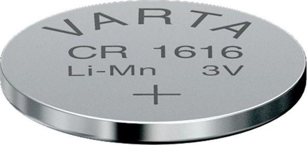 Lithium Knopfzelle CR1616, 6616, DL1616 - 3V von Varta
